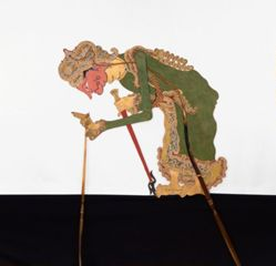 Shadow Puppet (Wayang Kulit) of Abyasa, from the consecrated set Kyai Nugroho
