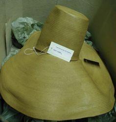 Hat Box and Leghorn Hat