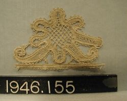 Fragment of bobbin lace
