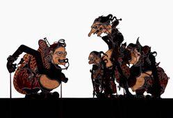 Shadow Puppet (Wayang Kulit) of Petruk