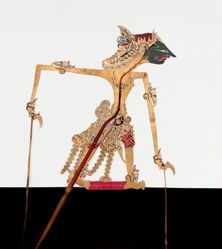 Shadow Puppet (Wayang Kulit) of Trigantalpati, from the consecrated set Kyai Nugroho