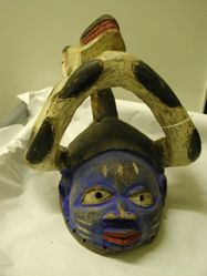 Mask with Serpents