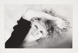 (Untitled) Gisante in Mask, from the portfolio, CHIAROSCURO, 1982