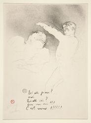 Aux variétiés: Mlle. Lender et Brasseur (At the Varieties: Mademoiselle Lender and Brasseur)