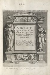 Title plate of the series Parable of the Five Wise and Foolish Virgins