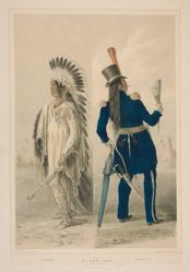 Wi-Jun-Jon, An Assinneboin Chief, pl. 25 from the North American Indian Portfolio
