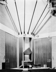 Interior, Dutch Reformed Church, Welgemoed, near Bellville, Capetown
