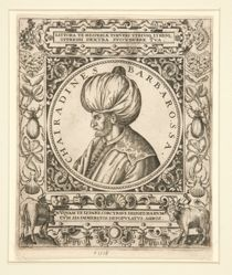 Portrait of Hayreddin Barbarossa