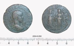 Coin of Side, Homonoia with Attaleia