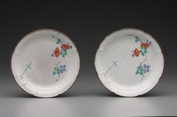 Pair of Kakiemon Dishes