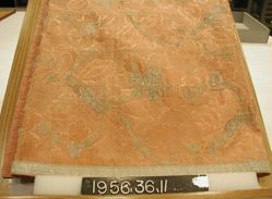 Square silk brocade panel.