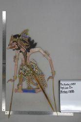 Shadow Puppet (Wayang Kulit) of Trikoyo, from the set Kyai Drajat