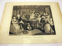 The Harlot's Progress, Plate 6