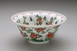 Bowl with Camellias