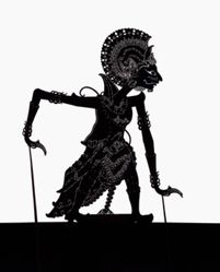 Shadow Puppet (Wayang Kulit) of Overseas Soldier II or Prajurit Sebrang II