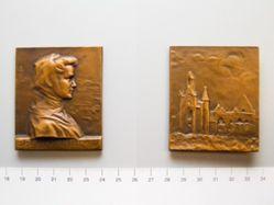 Bronze Plaque Bretonne