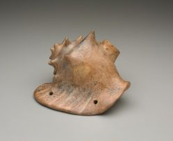 Vessel in the Shape of a Conch Shell