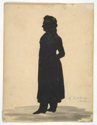 Silhouette of Major Thomas Wheeler Williams