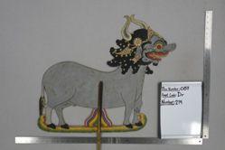 Shadow Puppet (Wayang Kulit) of Jatasura, from the set Kyai Drajat