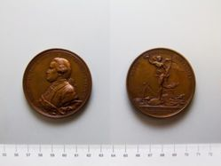 Restrike Medal of Nathaniel Greene and the Battle of Eutaw Springs