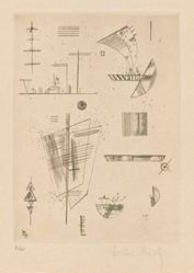 "First Etching from Will Grohmann's book ""Kandinsky"" (Paris: Éditions ""Cahiers d'Art,"" [1930])"