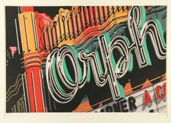 Orph, one print in a set of ten in a portfolio - 2009