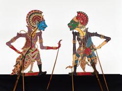 Shadow Puppet (Wayang Kulit) of Overseas Soldier I or Prajurit Sebrang I
