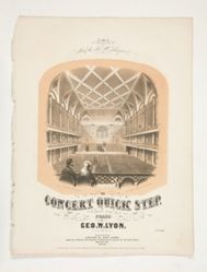The Concert Quick Step (sheet music)
