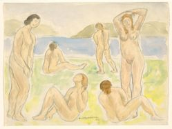 Bathers (or Figures)
