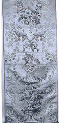 Length of compound satin, style of Louis XVI, about 1780