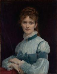 Portrait of Miss Fanny Clapp