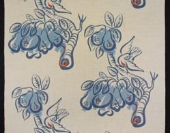 "Length of Fabric, ""Rio"" Pattern"