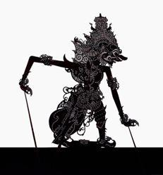 Shadow Puppet (Wayang Kulit) of Dasamuka