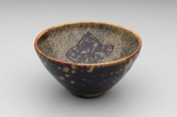 Tea Bowl with Flowers