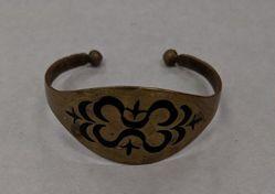 Bracelet of copper or brass