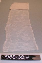 Length of knitted lace