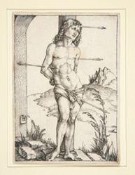 Saint Sebastian Tied to a Column