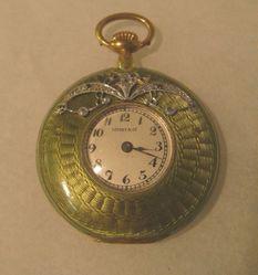 Woman's lapel watch