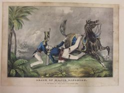 Death of Major Ringgold / Of the flying artillery at the Battle of Palo Alto (Texas), May 8, 1846