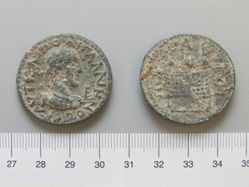 Coin of Gallienus, Emperor of Rome from Perge