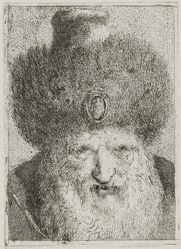 Turk with Fur Hat, from the Raccolta di Teste (Collection of Heads)