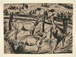 Goats and Landscape