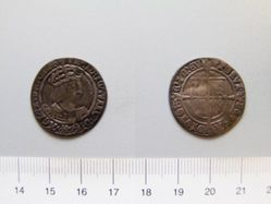 Silver Groat of Henry VIII from London