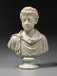 Portrait of the Emperor Commodus as a Boy
