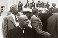 Background: Harry Belafonte and Mahalia Jackson, from the series Prayer Pilgrimage for Freedom