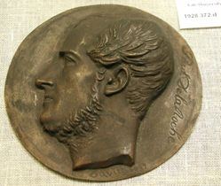 Paul Delaroche: bronze cast