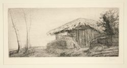 Bergerie sur le coteau (Shepher'd Hut on a Hillside)