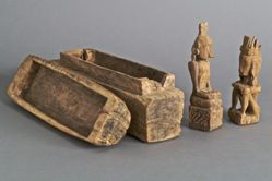 Box with Small Ancestor Figures