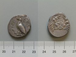 Didrachm from Agrigentum