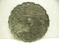 Mirror Depicting the Hero Ci Fei